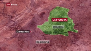 Video «Evakuierung von Schwerkranken aus Damaskus» abspielen