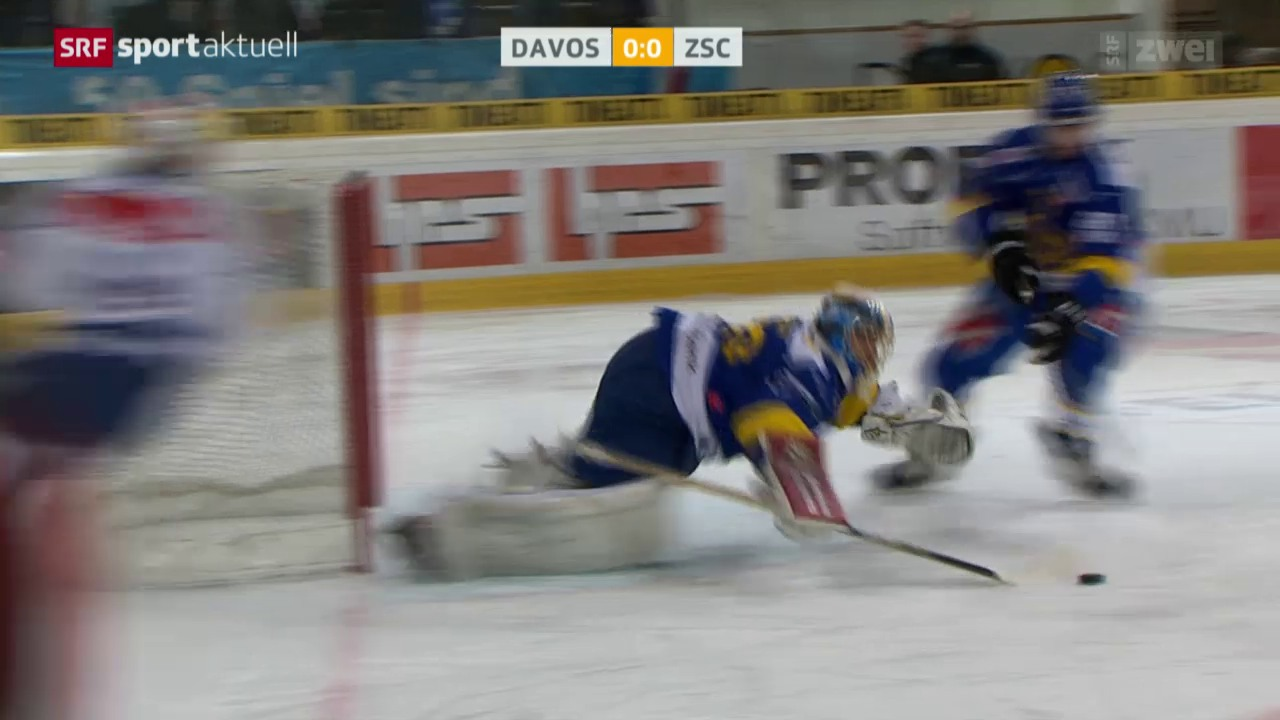 Eishockey, NLA: Davos - ZSC Lions
