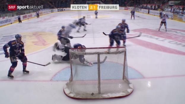 Video «Eishockey: NLA, Kloten - Freiburg» abspielen