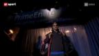 Video «Roger Federer – Sein Eröffnungsspiel bei den Swiss Indoors in Basel» abspielen