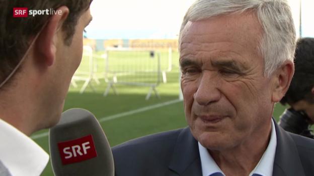 Video «Hanspeter Latour zum Argentinien-Spiel» abspielen