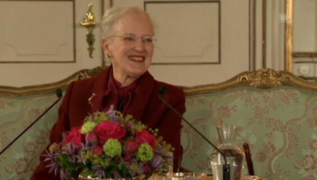 Video «Köngin Margrethe über das Alter» abspielen