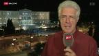Video «FOKUS: Parlamentsentscheid in Athen» abspielen