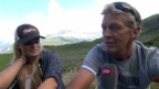 Video «Lara Gut und Bernhard Russi: Gemeinsamer Naturgenuss in Andermatt» abspielen