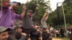 Video «Brünig-Schwinget endet mit Dreifachsieg» abspielen