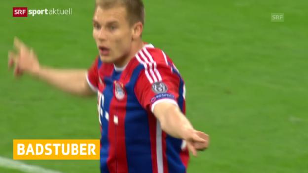 Video «Fussball: Bundesliga, Bayern München» abspielen