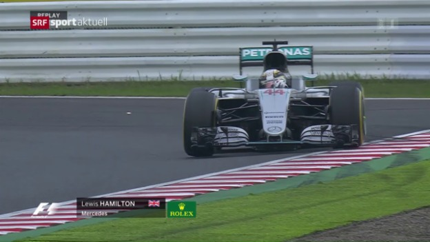Video «Mercedes dominiert Qualifying in Suzuka» abspielen