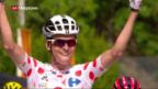 Video «Franzosen jubeln an der Tour de France am 14. Juli» abspielen