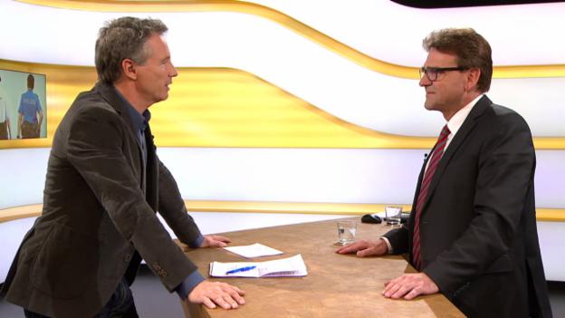 Video «Studiogespräch mit Beat Villiger, Vizepräsident KKJPD» abspielen