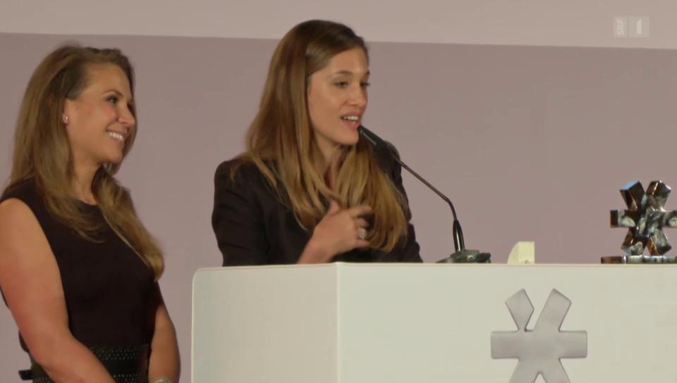 Juhu – ein Preis für den Schuh! Bianca Gubser erhält Auszeichnung