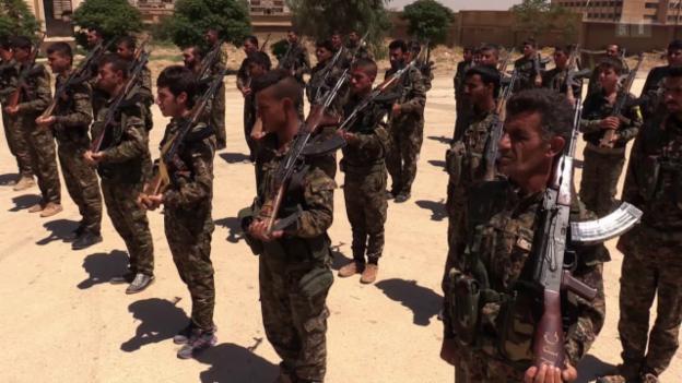 Video «Frontbericht aus Syrien» abspielen