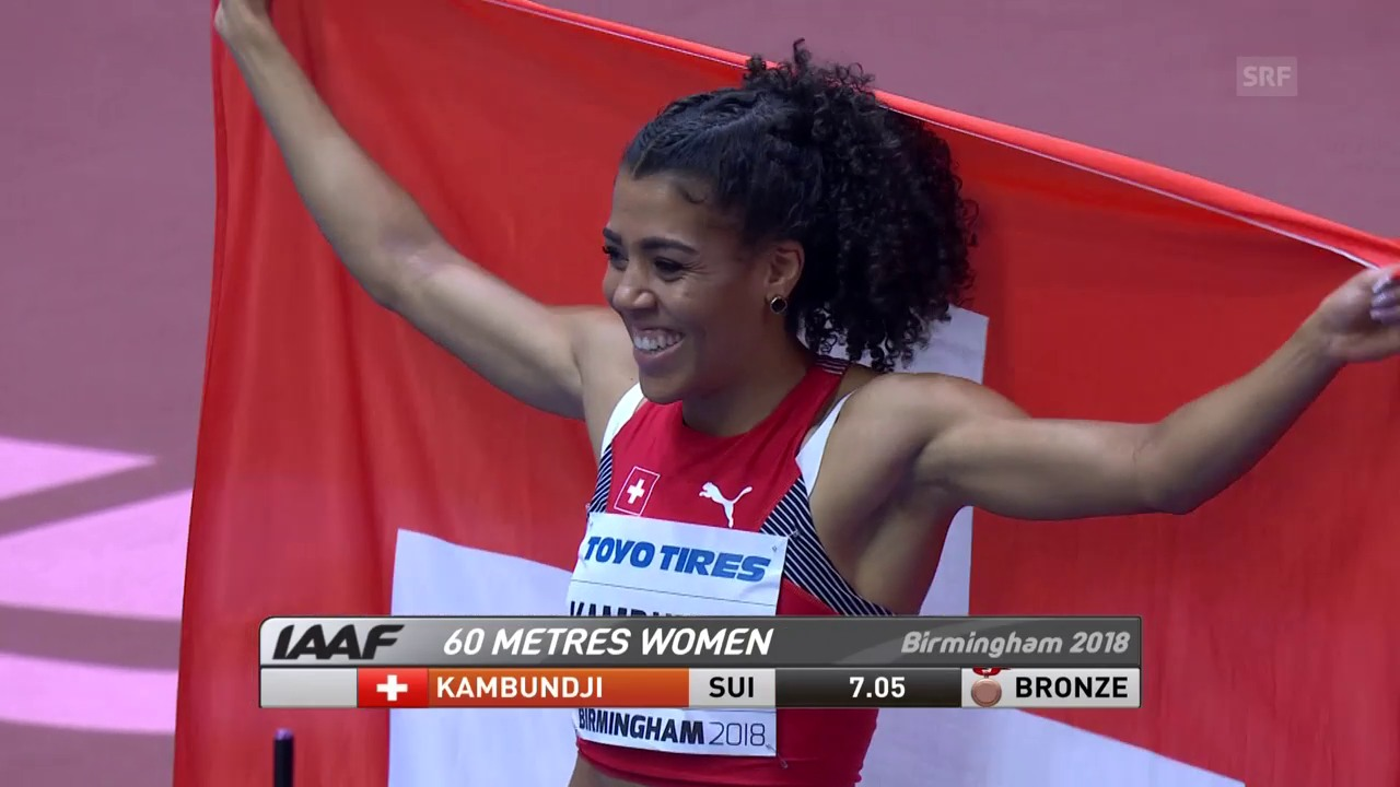 Kambundji holt sensationell WM-Bronze