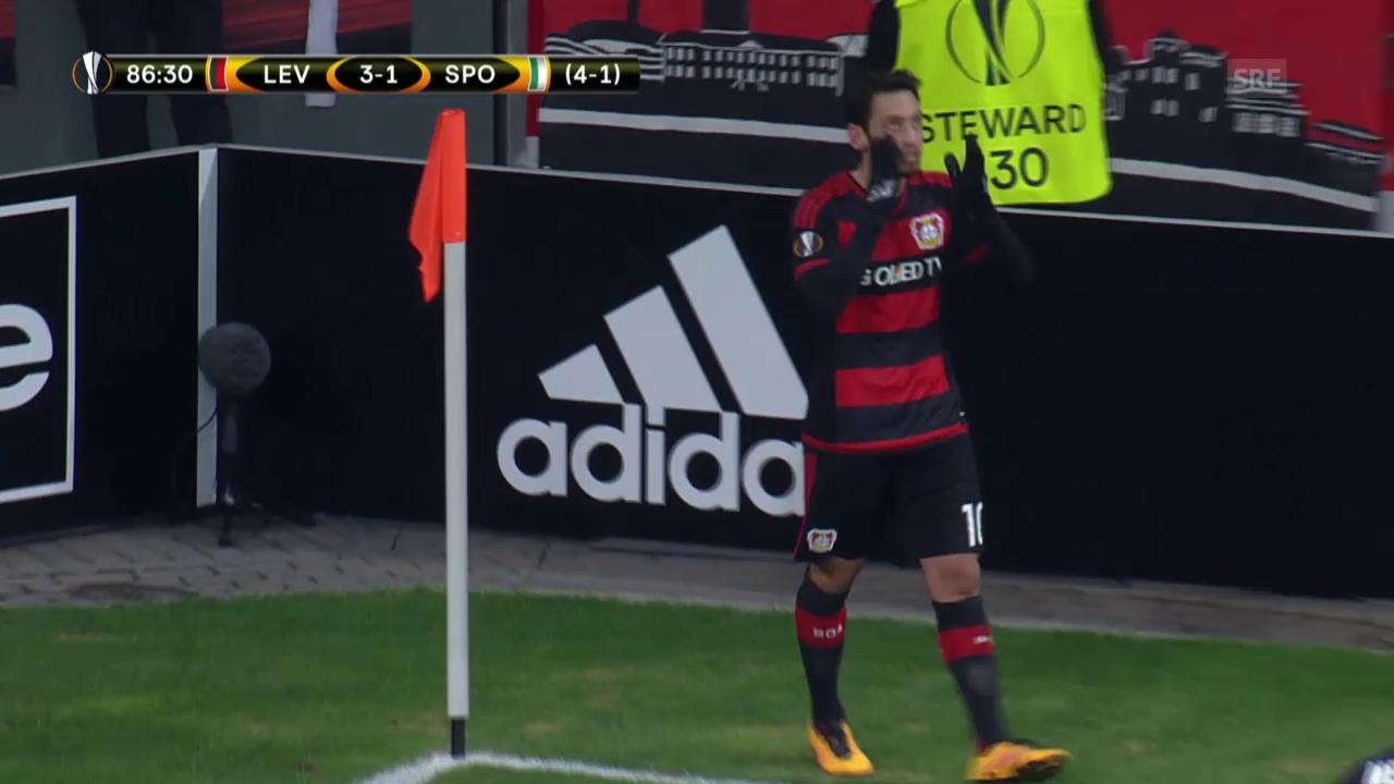 Bayer Leverkusen - Sporting Lissabon