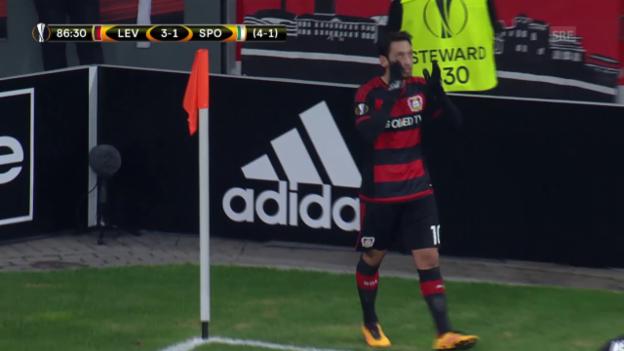 Video «Bayer Leverkusen - Sporting Lissabon» abspielen
