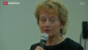 Video «Widmer-Schlumpf glaubt an neue Volksabstimmung» abspielen