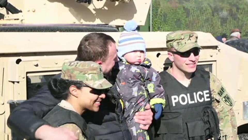 Die US-Army auf Charmeoffensive im Baltikum