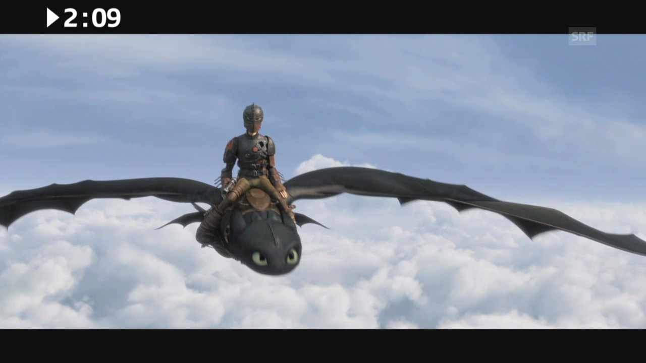 Keine 3 Minuten: «How to Train Your Dragon 2»