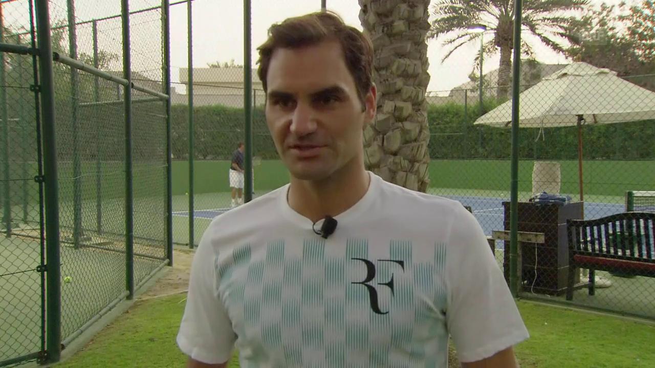 Roger Federer über die Planung von 2018 und weiteren Verlauf der Karriere
