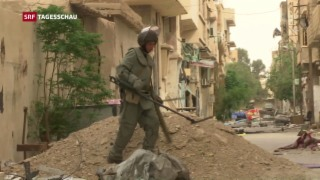 Video «Rückeroberungswelle der syrischen Armee» abspielen