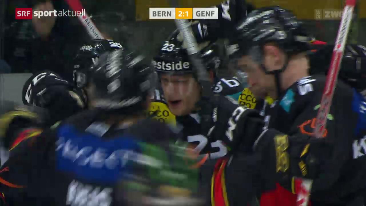 Bern feiert gegen Genf einen eminent wichtigen 3-Punkte-Sieg