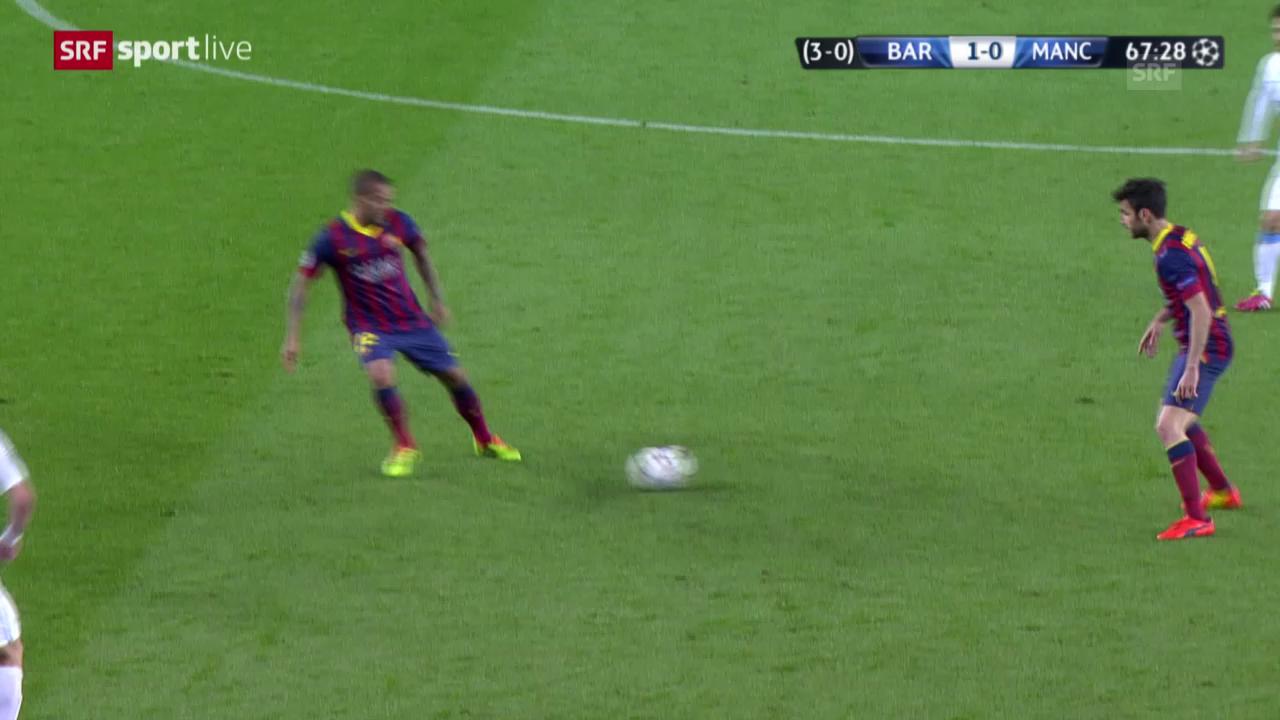 Fussball: Champions League, Achtelfinal, Barcelona-Manchester City («sportlive», 12.3.14)