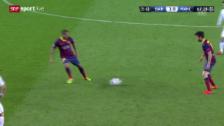 Video «Fussball: Champions League, Achtelfinal, Barcelona-Manchester City («sportlive», 12.3.14)» abspielen