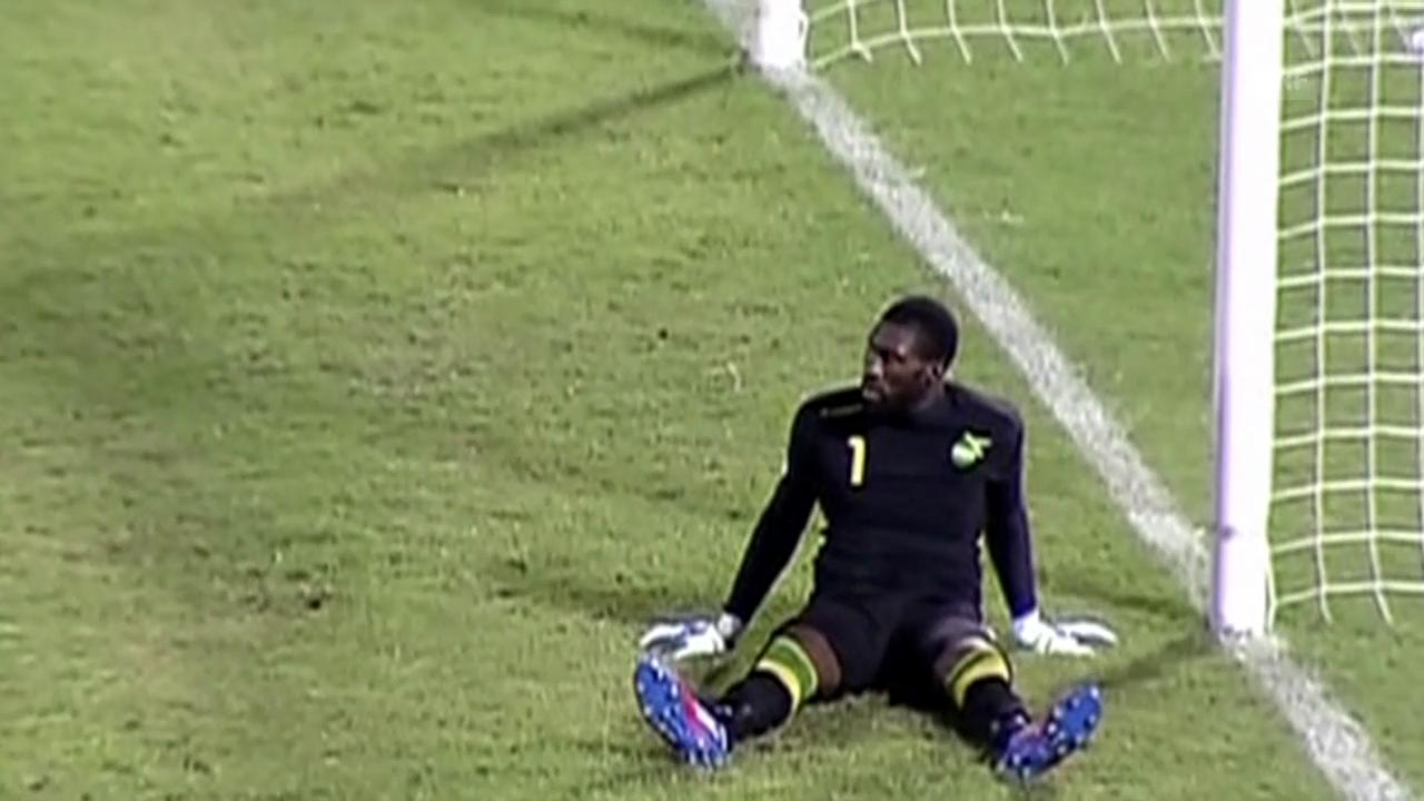 Die Tore von Honduras gegen Jamaika (Quelle: SNTV)