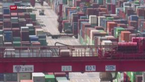 Video «US-Strafzölle gegen China» abspielen