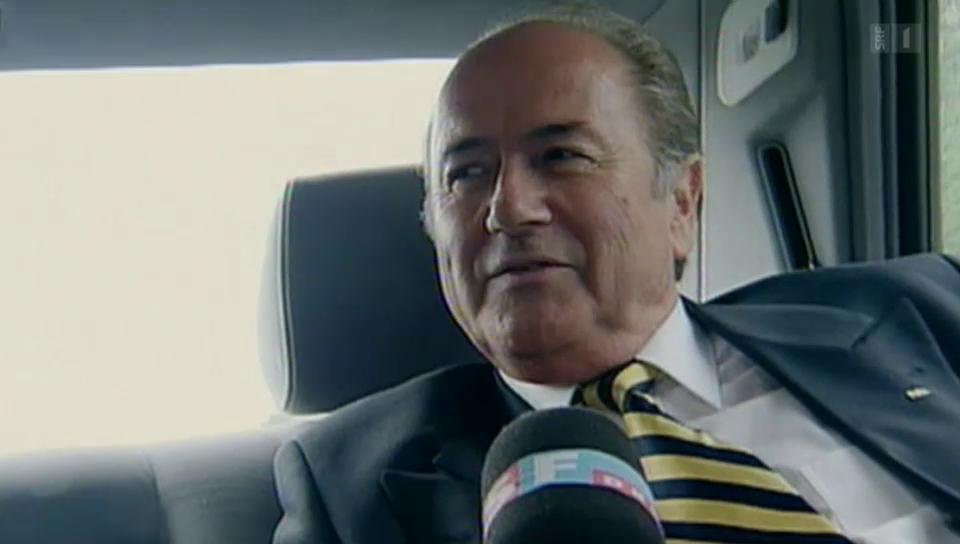 Sepp Blatter, der Selbstdarsteller