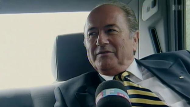 Video «Sepp Blatter, der Selbstdarsteller» abspielen