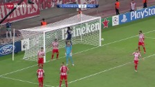 Video «CL: Olympiakos Piräus - Paris St-Germain» abspielen
