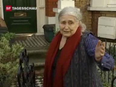 Nobelpreis für Literatur geht an Doris Lessing