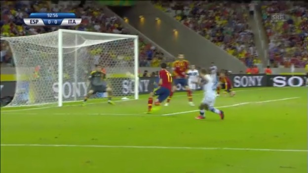 Video «Highlights Spanien-Italien bis zum Elfmeterschiessen («sportlive»)» abspielen