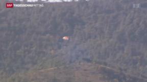Video «Türkei schiesst russischen Jet ab» abspielen