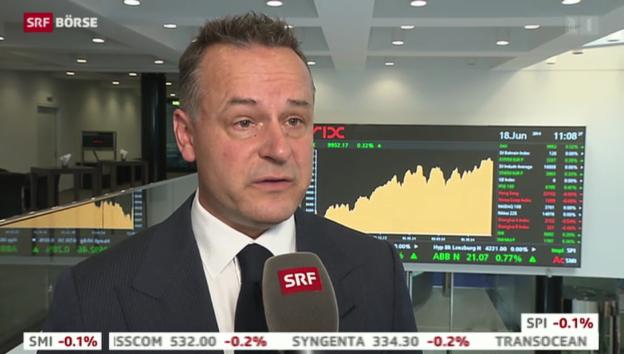 Video «SRF Börse vom 18.06.2014» abspielen
