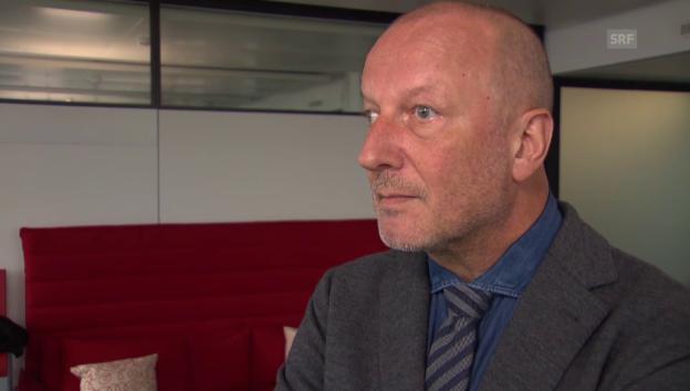 Video «SRG-Generaldirektor Roger de Weck zum Sparprogramm» abspielen