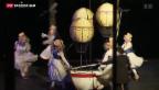 Video «Hürlimanns neues Stück in Luzern uraufgeführt» abspielen