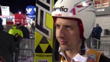 Video «Skispringen: Interview mit Simon Ammann» abspielen