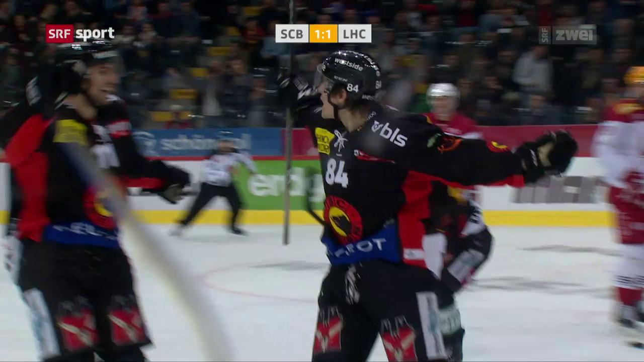 Meister Bern siegt klar gegen Lausanne