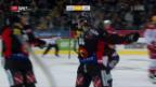 Video «Meister Bern siegt klar gegen Lausanne» abspielen