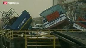 Video «Tote nach Seebeben in Chile» abspielen