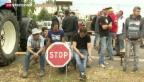 Video «Kein Durchkommen für deutsche Agrarprodukte in Frankreich» abspielen