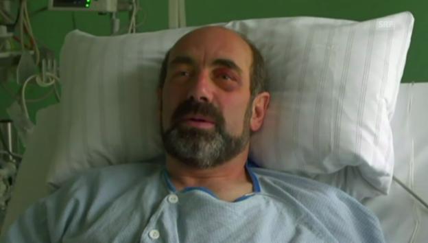Video «Der Höhlenforscher meldete sich von seinem Spitalbett» abspielen
