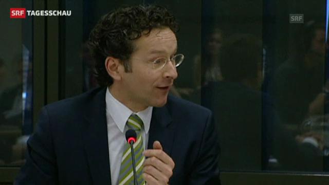 Der designierte Eurogruppenchef Jeroen Dijsselbloem. (Tagesschau 21.01.2013)