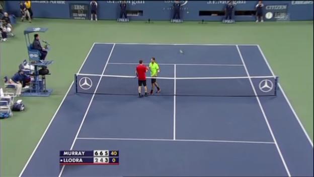 Video «Matchball von Andy Murray (unkommentiert)» abspielen