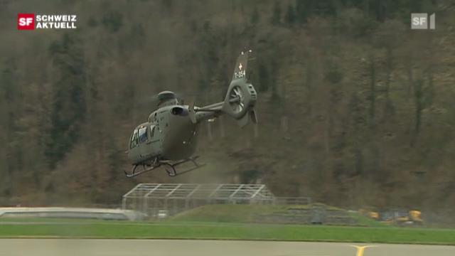 «Schweiz aktuell» 31.3.11: Absturz Super Puma vom 30.3.2011, Maderanertal