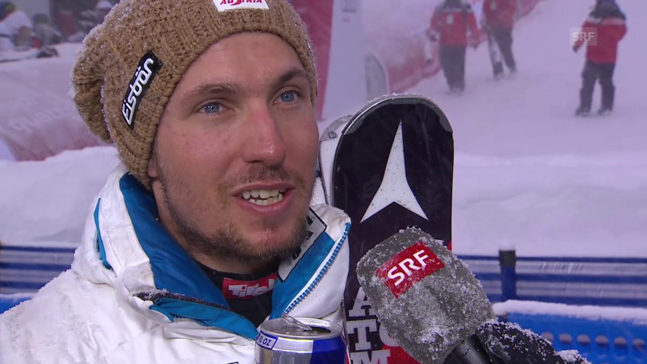 Ski alpin: WM 2015 Vail/Beaver Creek, Slalom der Männer, Hirscher im Interview