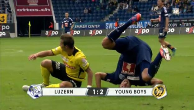 Video «SL kompakt: Luzern - YB» abspielen