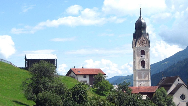 Glockengeläut der Kirche St. Johannes Baptista, Somvix/Sumvitg.