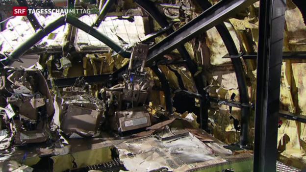 Video «MH17: Die Reaktionen auf den Schlussbericht» abspielen